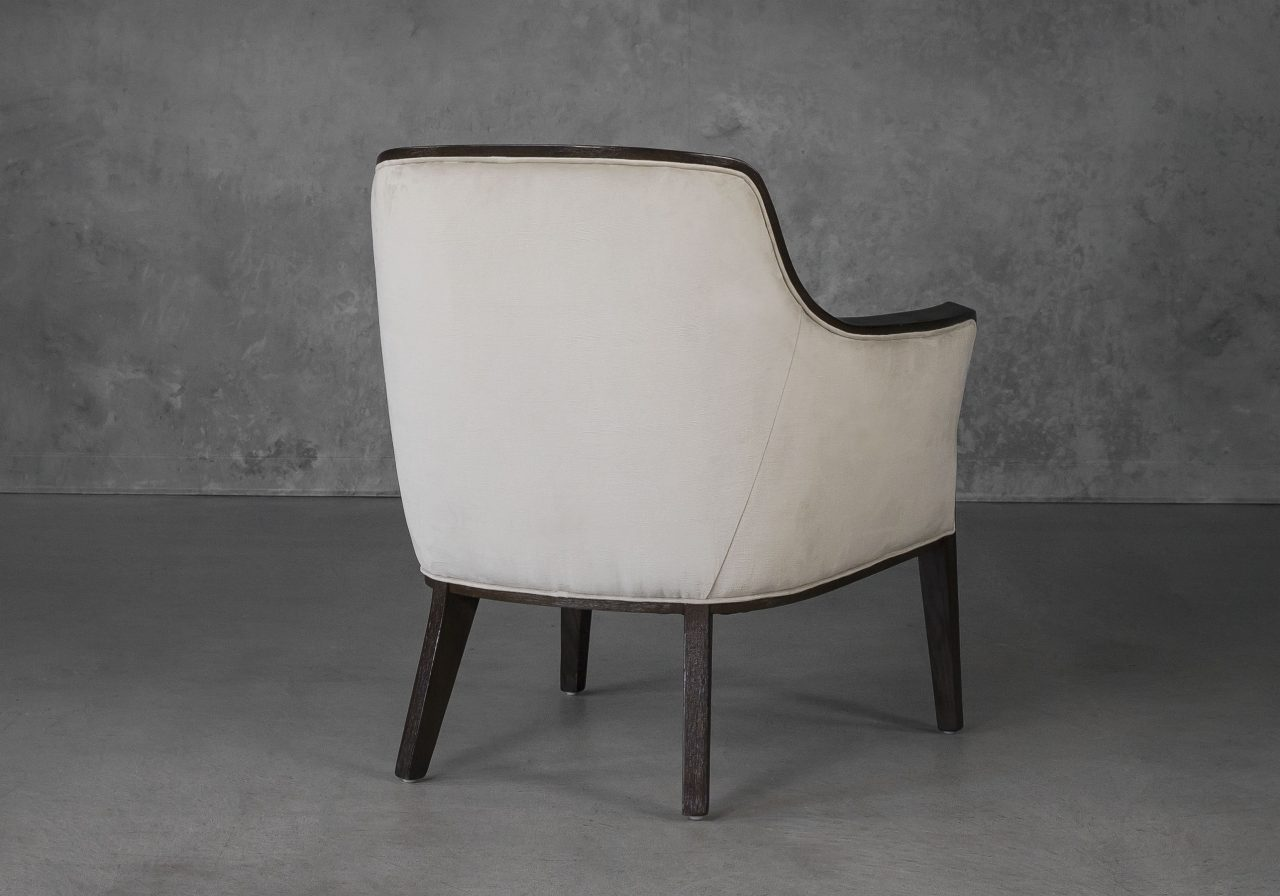 Audrey Chair in Beige (C686) Fabric, Back