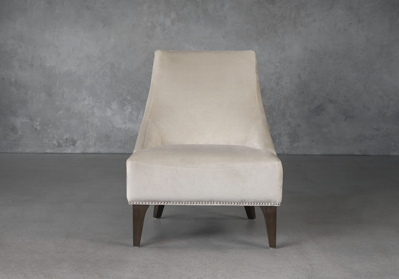 Blair Accent Chair in Beige (C686) Fabric, Front
