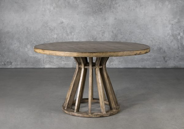 Baffin Round Dining Table, Front