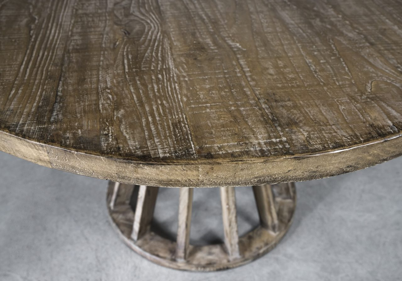 Baffin Round Dining Table, Top