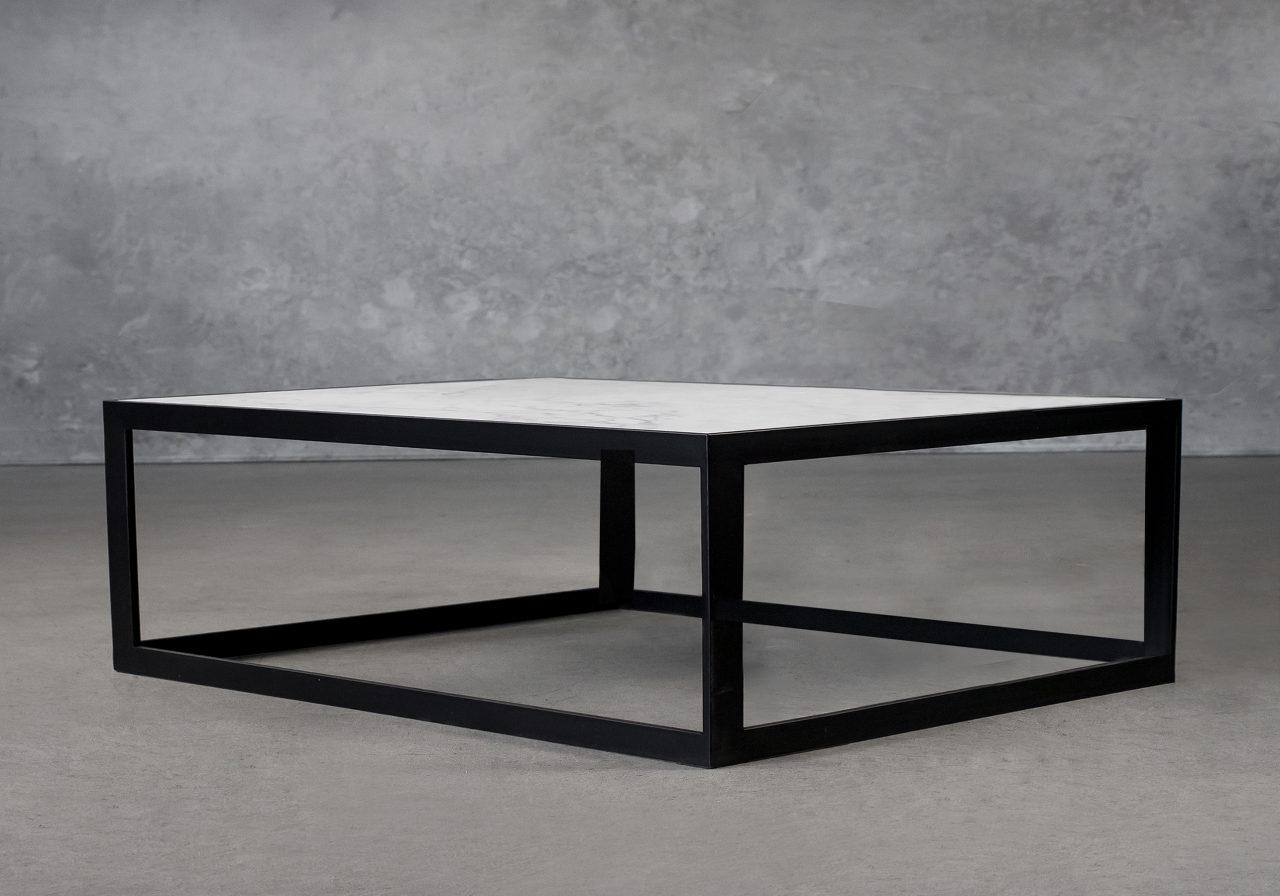 Carrara Rectangle Coffee Table, Angle
