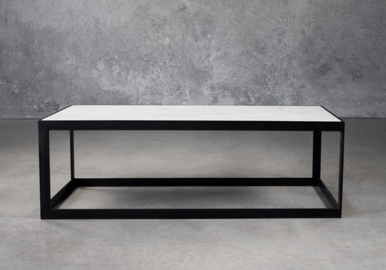 Carrara Rectangle Coffee Table, Front