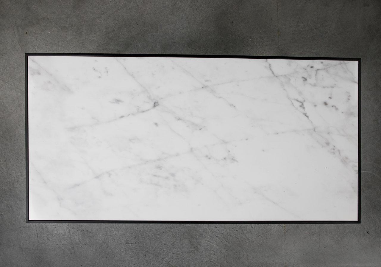 Carrara Rectangle Coffee Table, Top