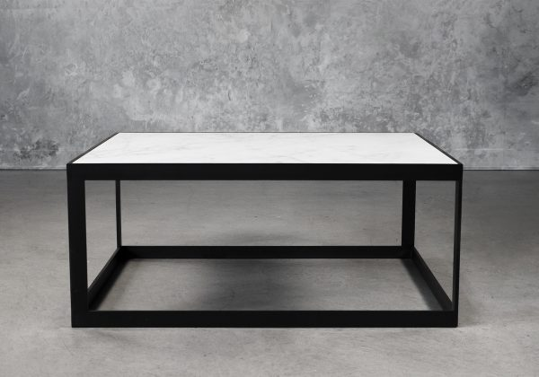 Carrara Square Coffee Table, Front