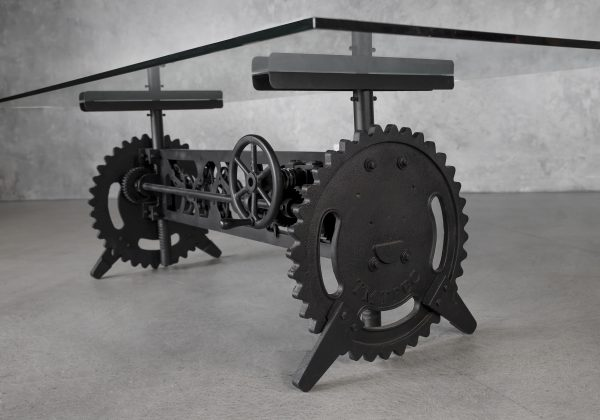 Clock Crank Dining Table, Base