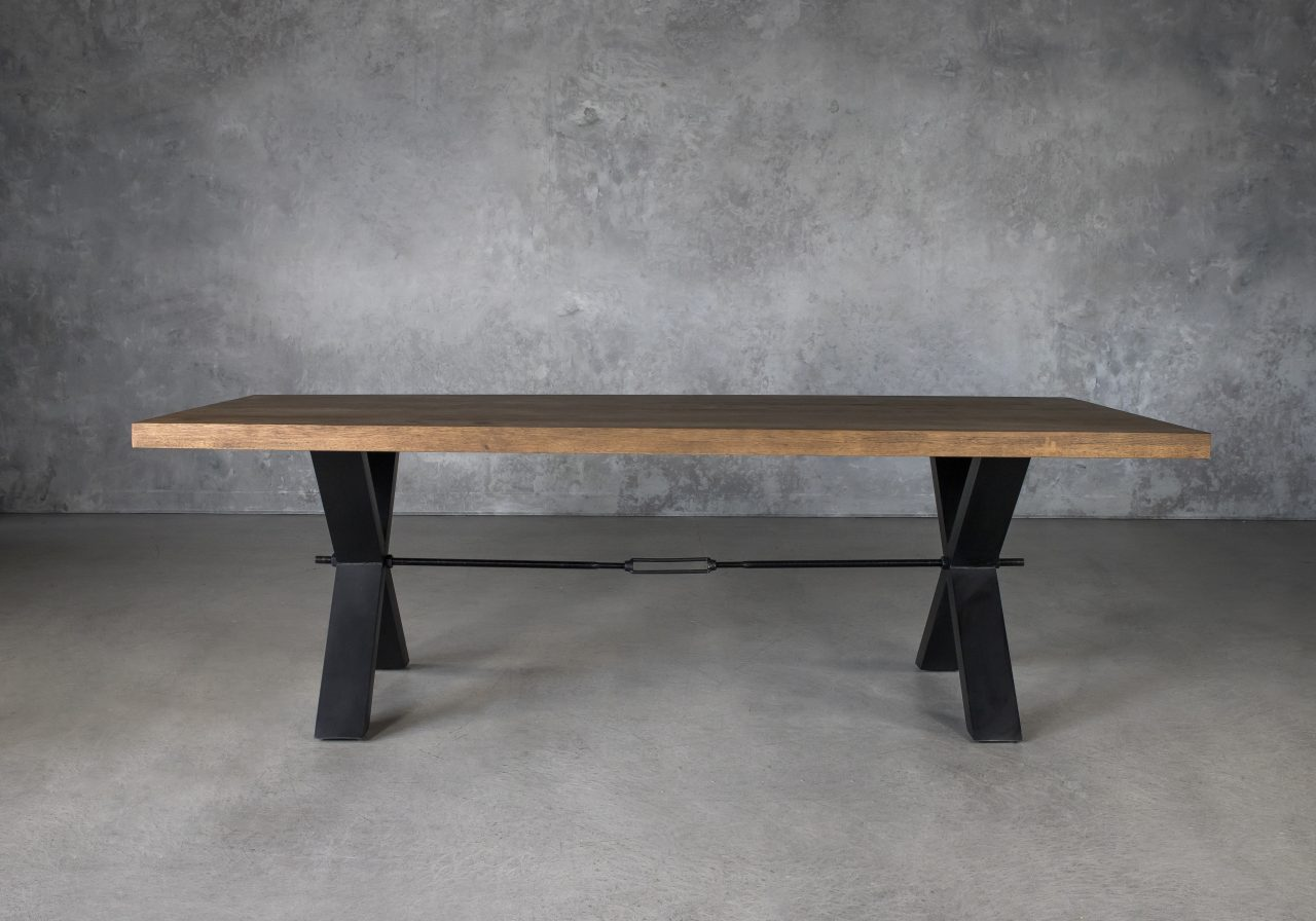 Ironside Large Dining Table, Front
