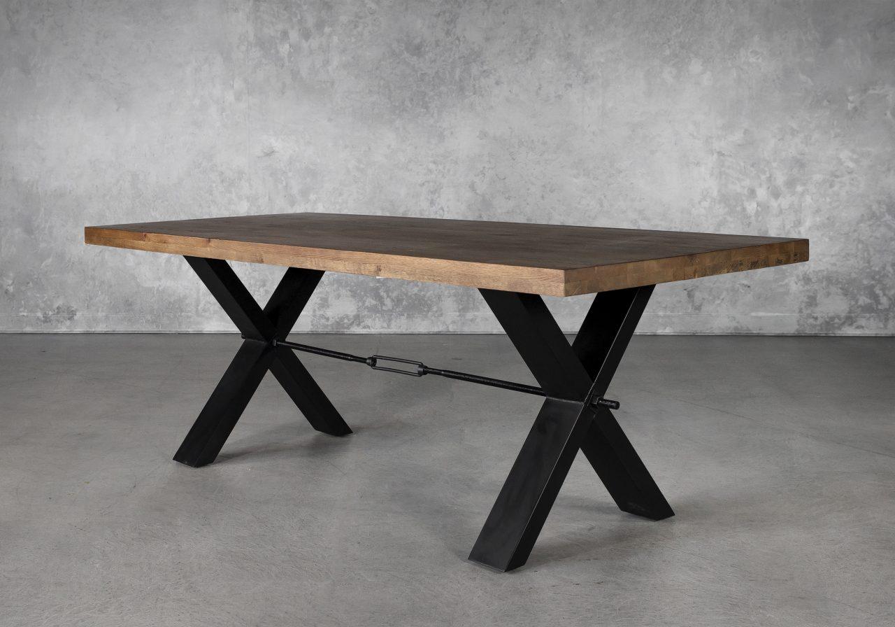 Ironside Medium Dining Table, Angle