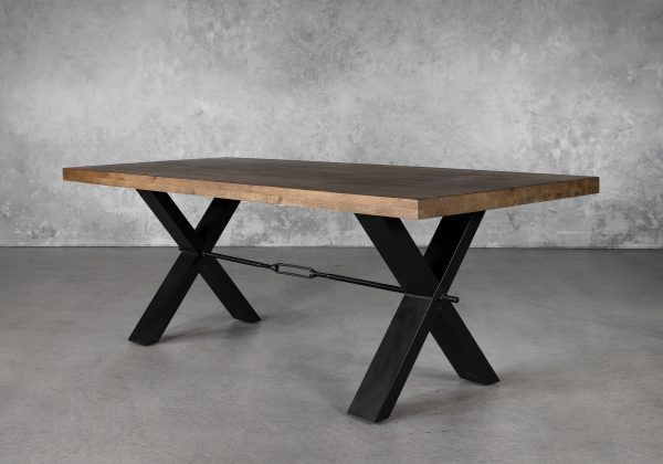 Ironside Medium Dining Table, Angle