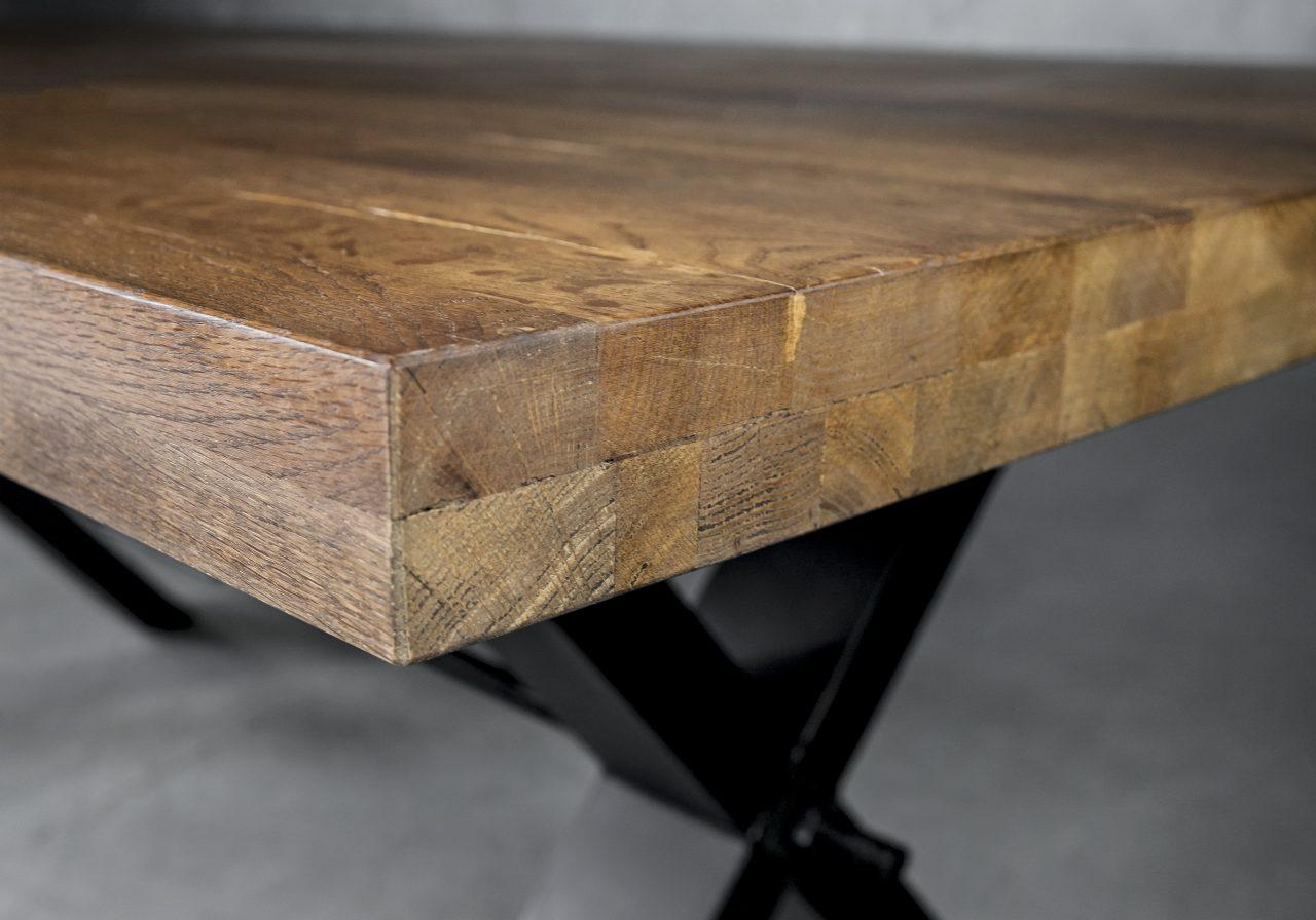 Ironside Medium Dining Table, Close Up