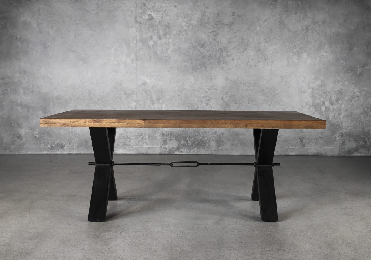 Ironside Medium Dining Table, Front