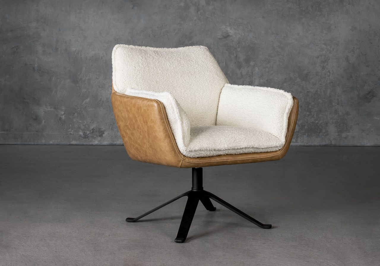 Jay Swivel Chair, Angle