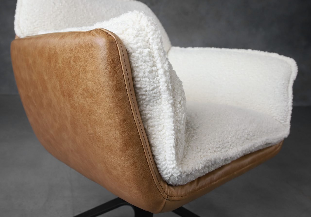 Jay Swivel Chair, Close Up