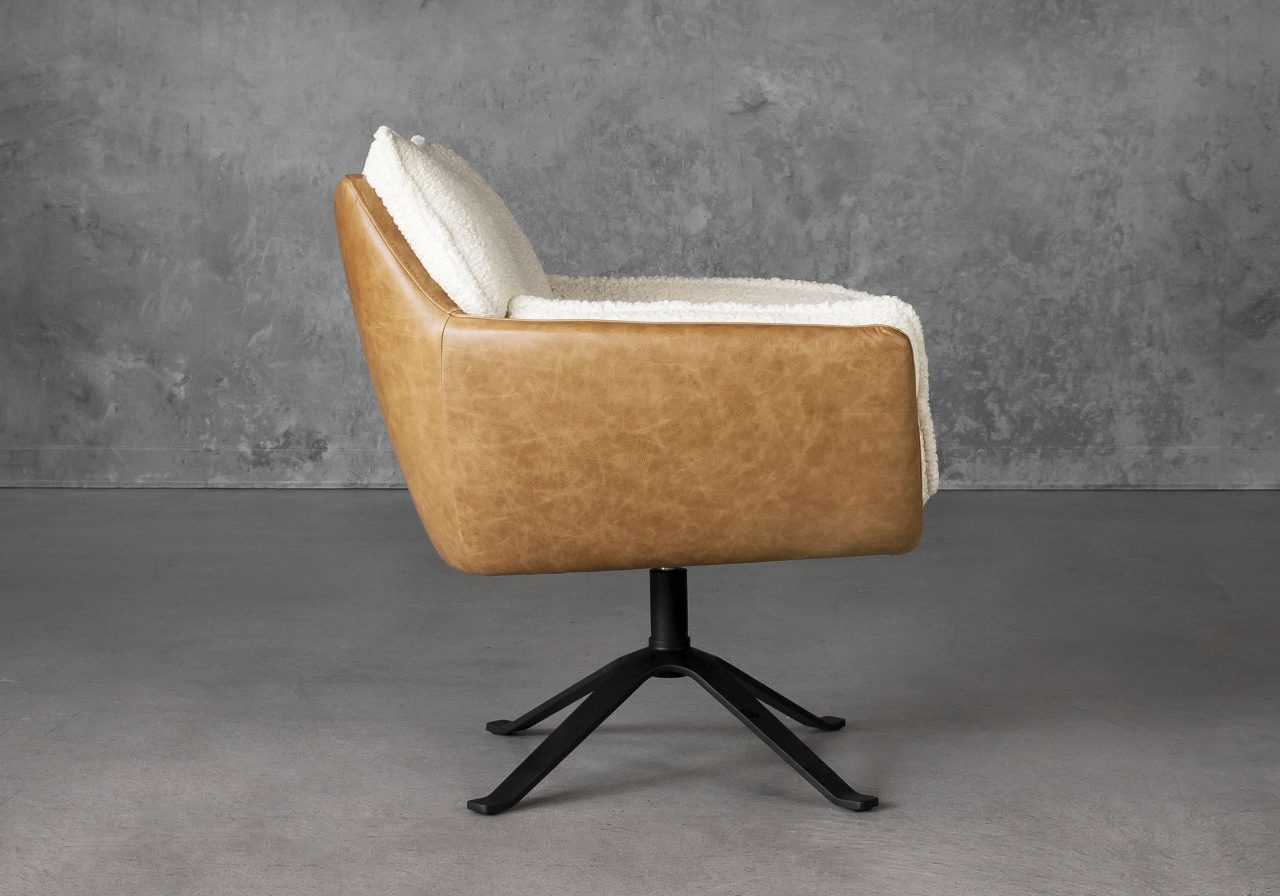 Jay Swivel Chair, Side