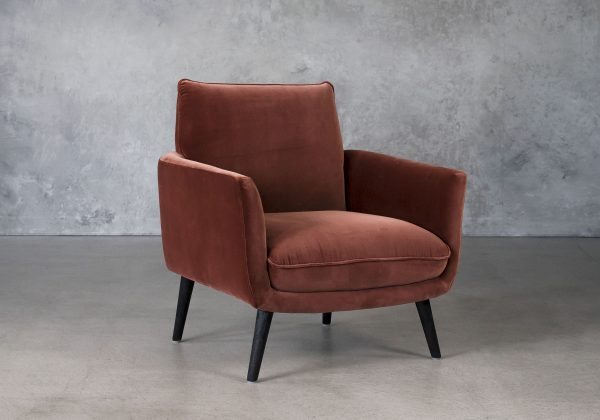 Layla Accent Chair, Angle