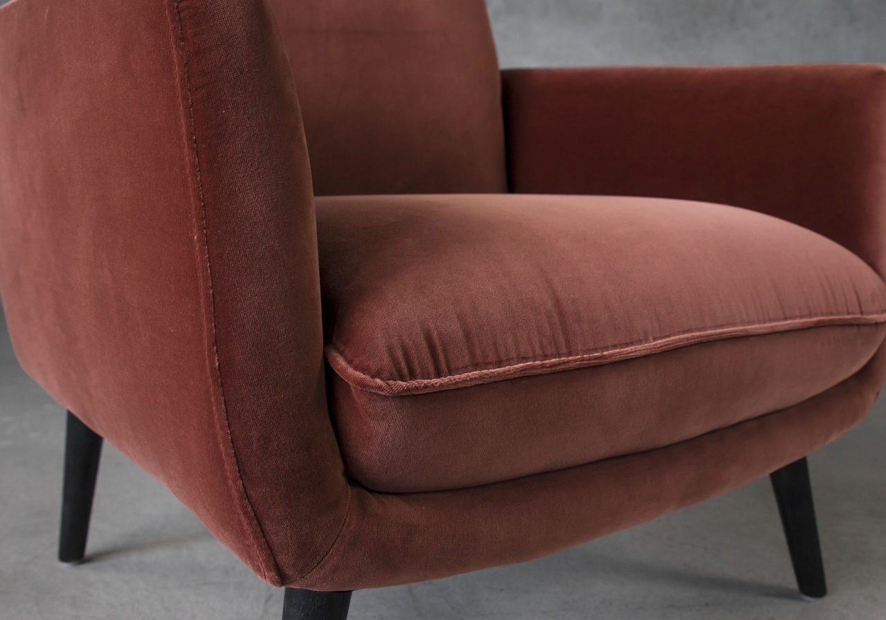 Layla Accent Chair, Close Up