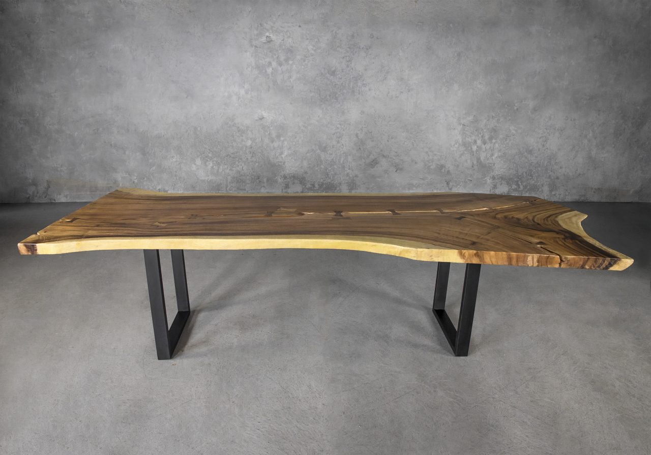 Live Edge Dining Table, Y Front