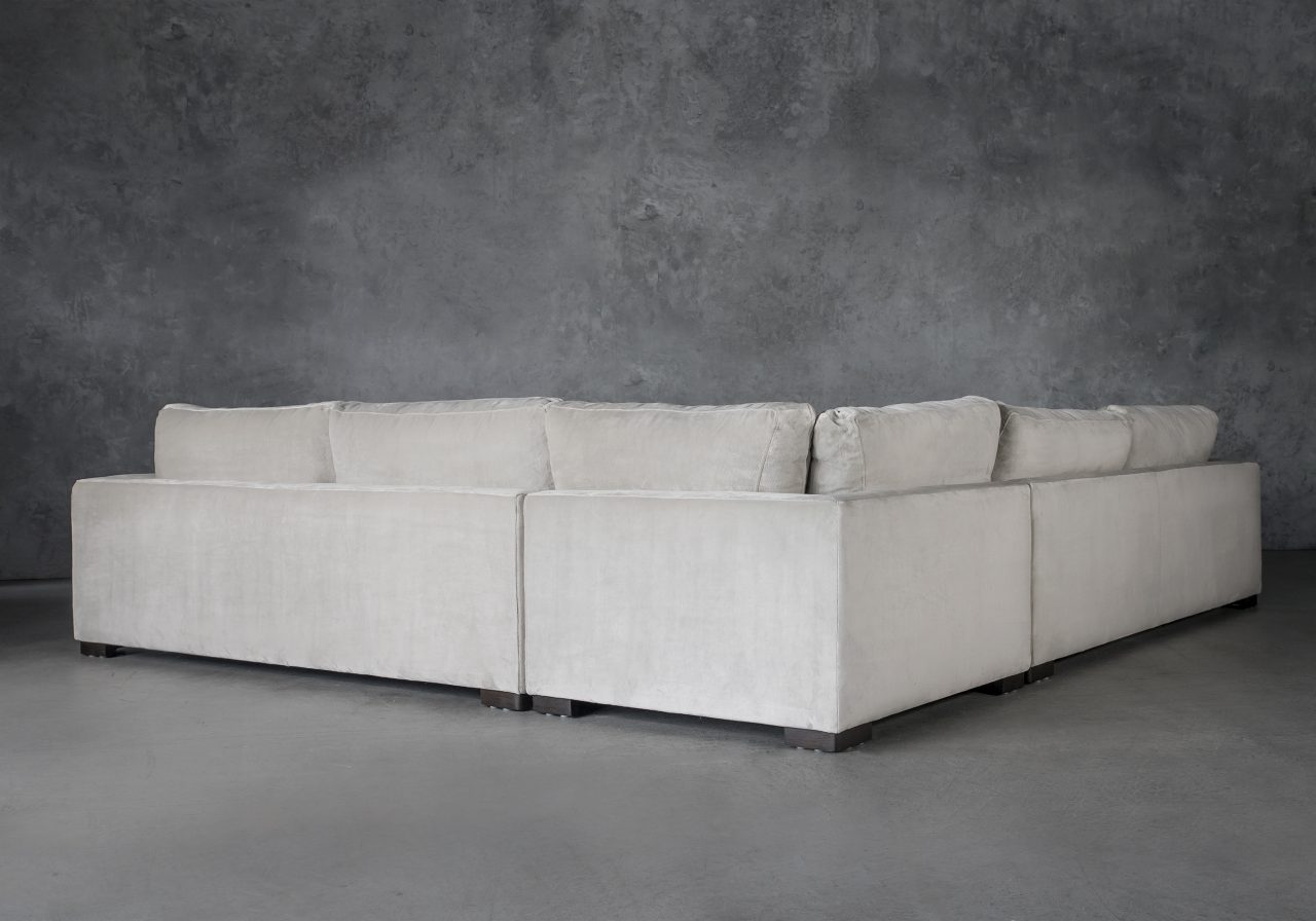 Lucca Sectional, Back