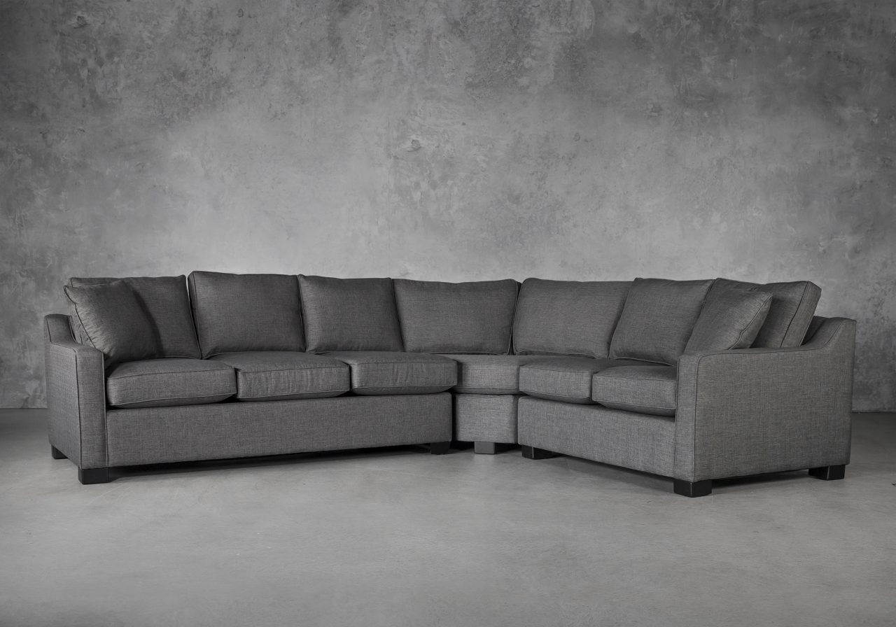 Milo Sectional and Sofabed, Angle