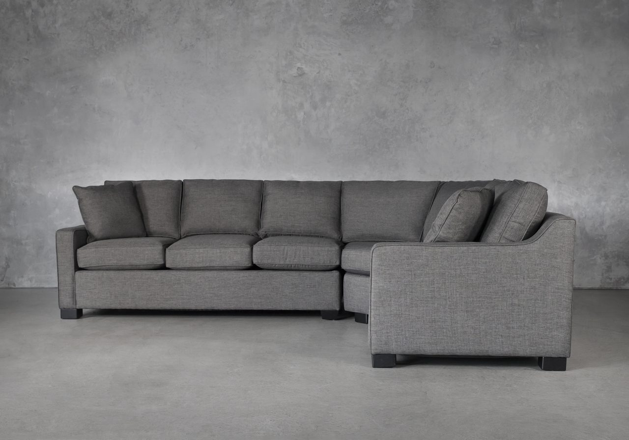 Milo Sectional and Sofabed, Front