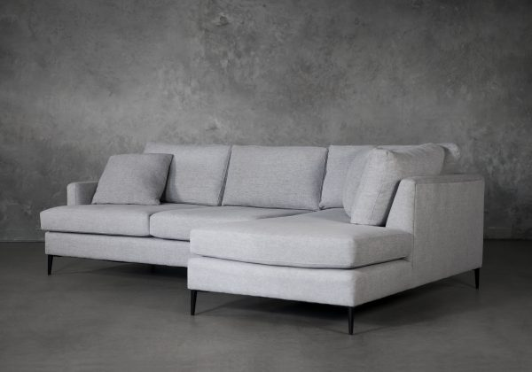 Romy 1 Arm Apartment Sofa, Angle