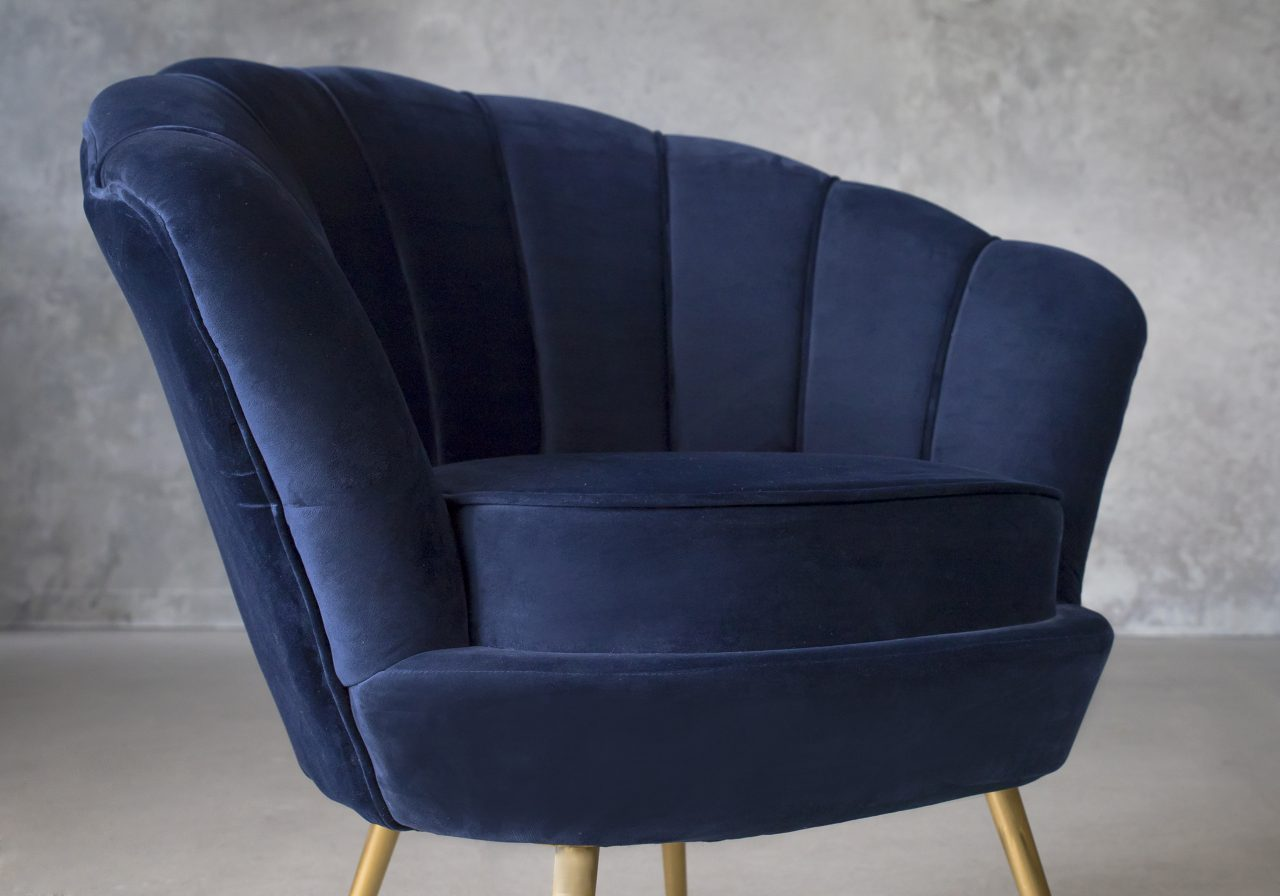 Shell Chair, Close Up