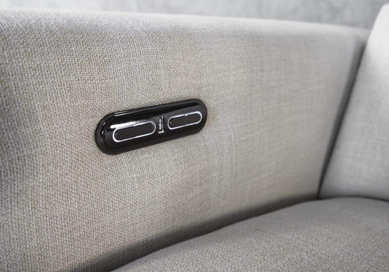 Stanley Sectional, Recliner Buttons