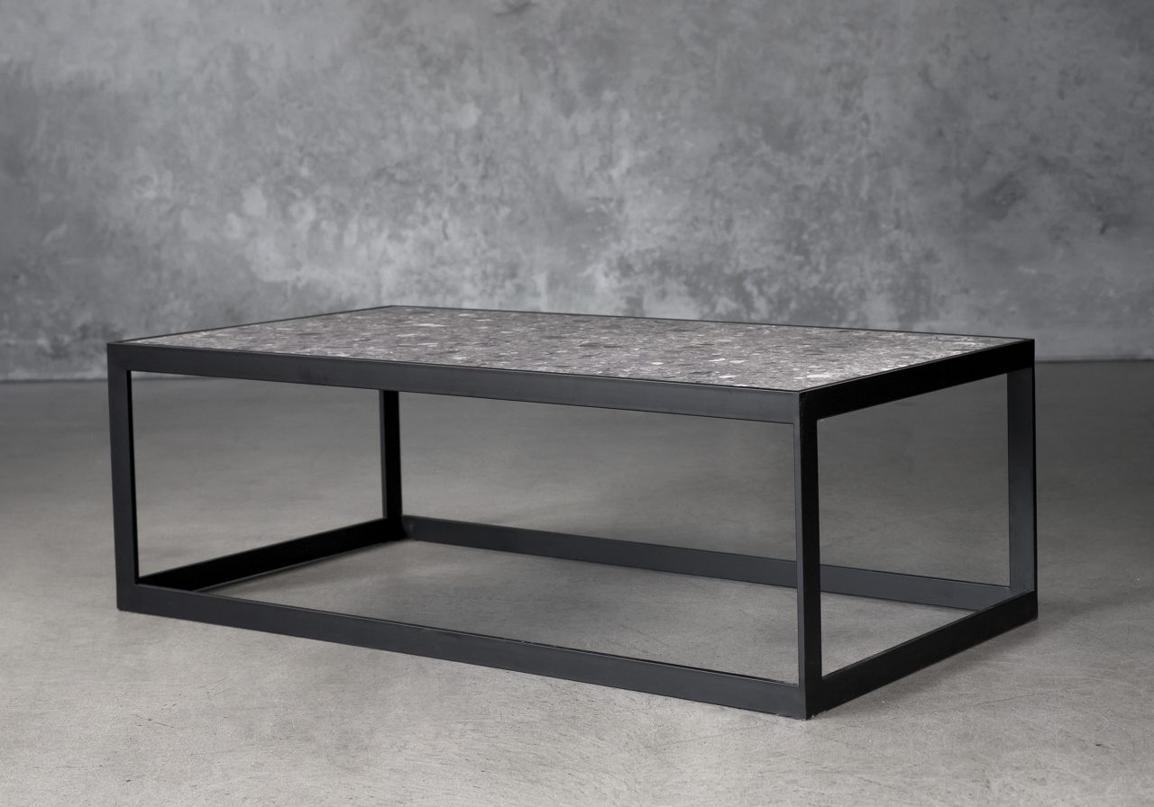 Terrazo Rectangle Coffee Table, Angle
