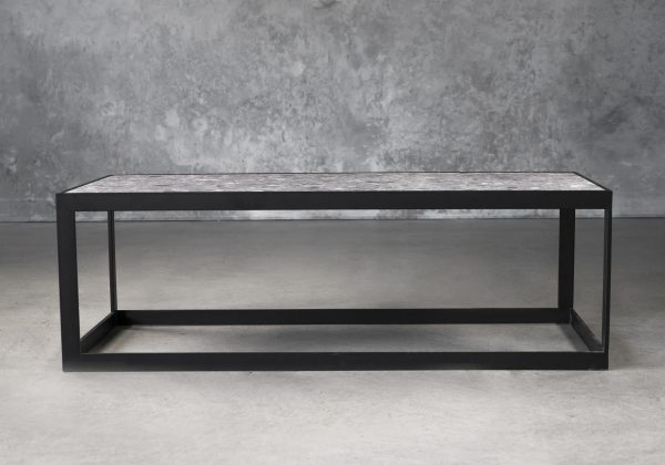 Terrazo Rectangle Coffee Table, Front