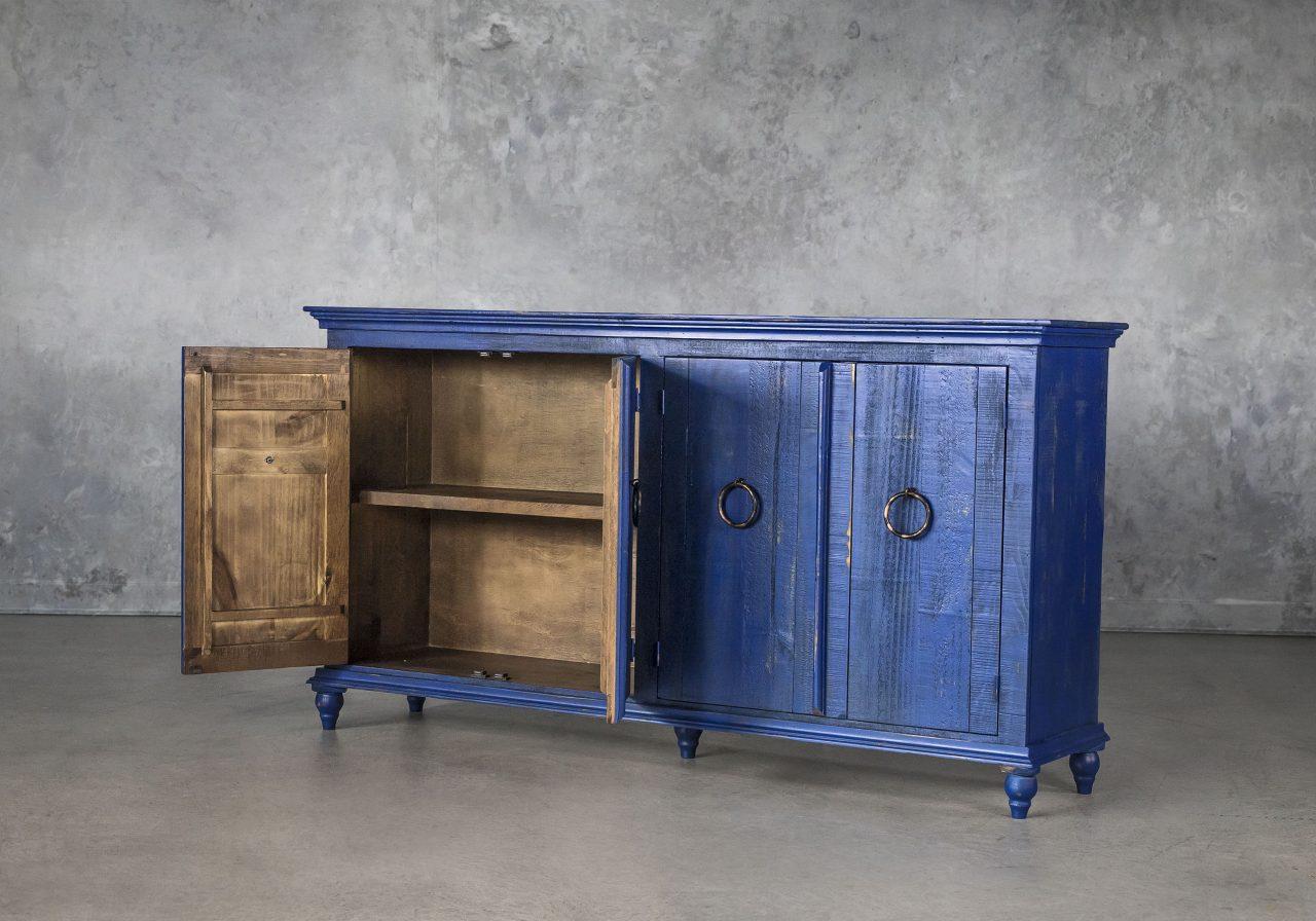 Capri Blue Console, Door Open