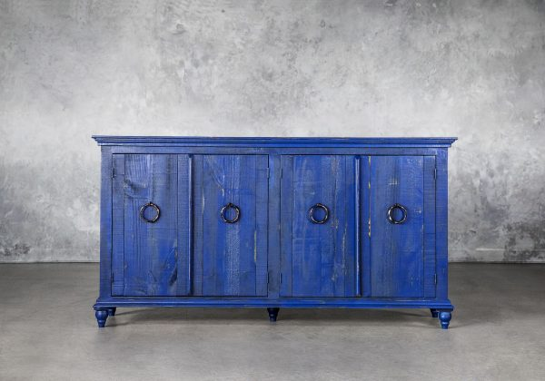 Capri Blue Console, Front