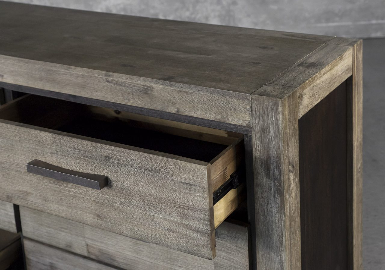 Corsica Double Dresser,Close Up