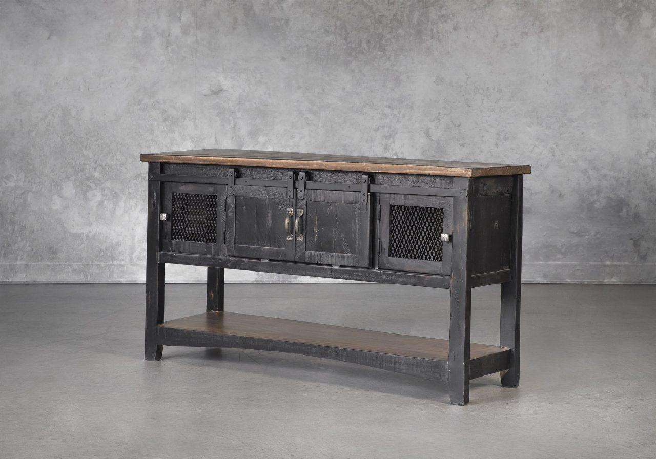 Eblo Console Table, Angle