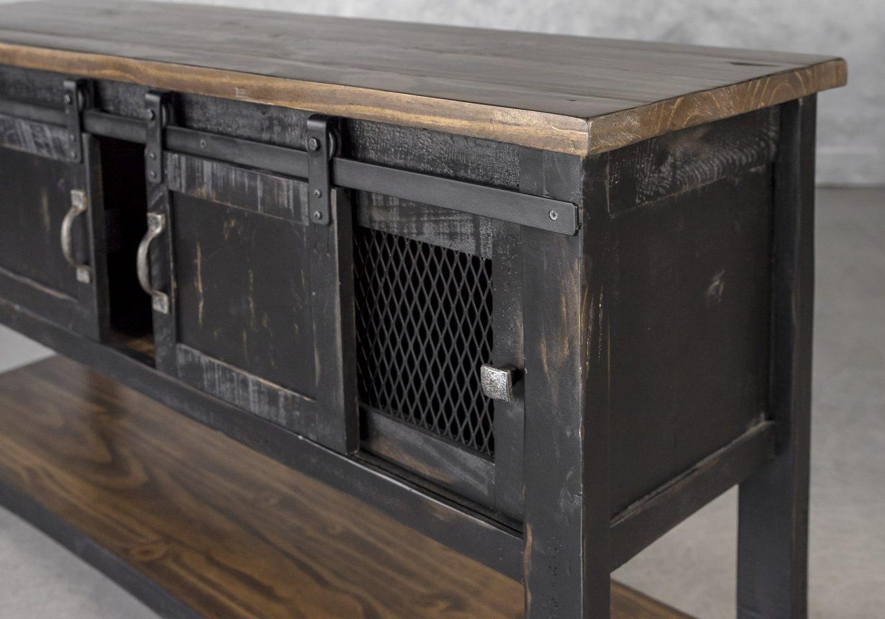 Eblo Console Table, Close Up