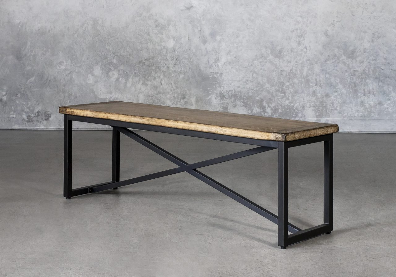 Fran Dining Bench, Angle