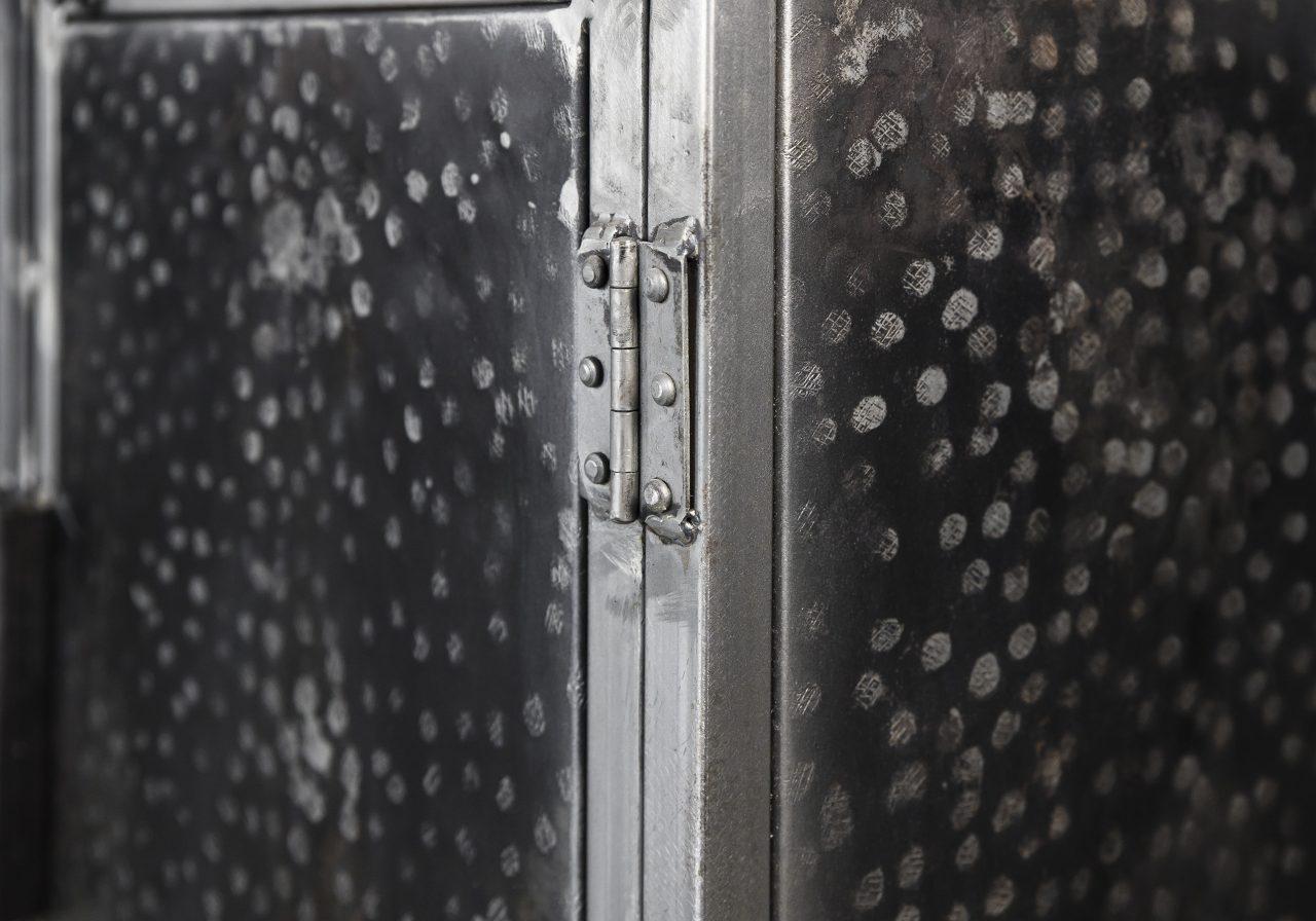 Hammered Sideboard, Close Up
