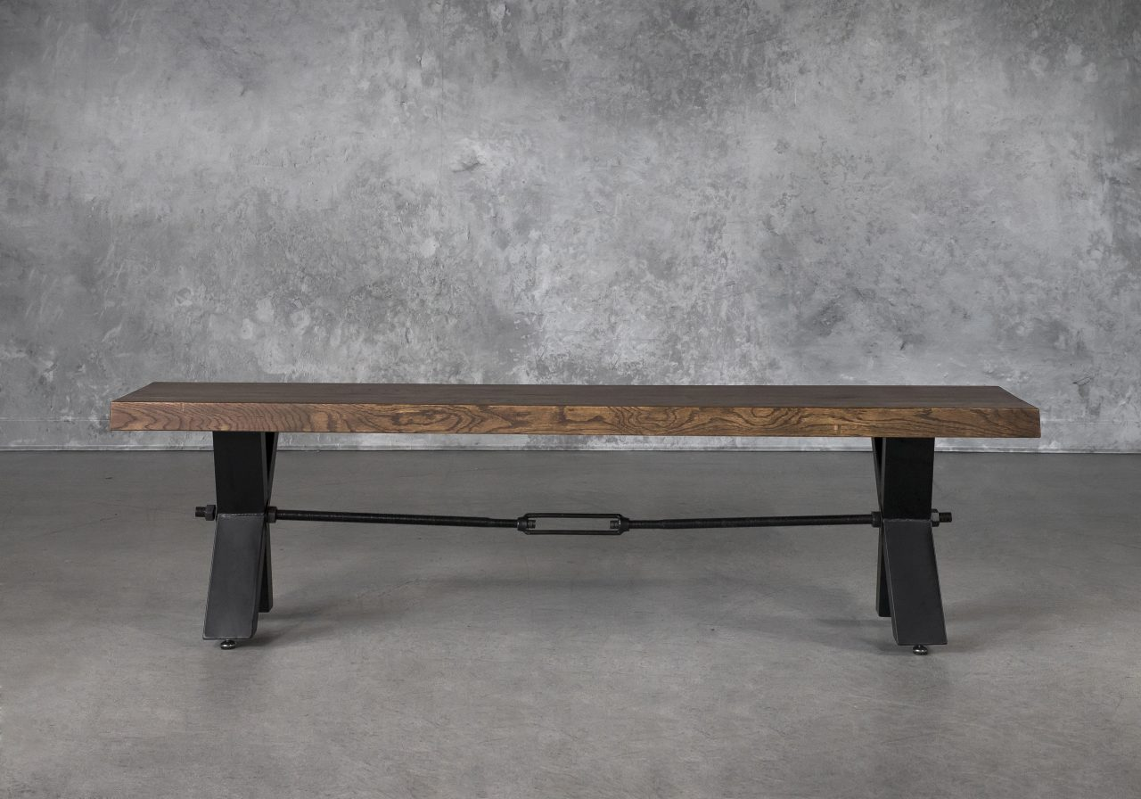 Ironside Dining Bench, Front