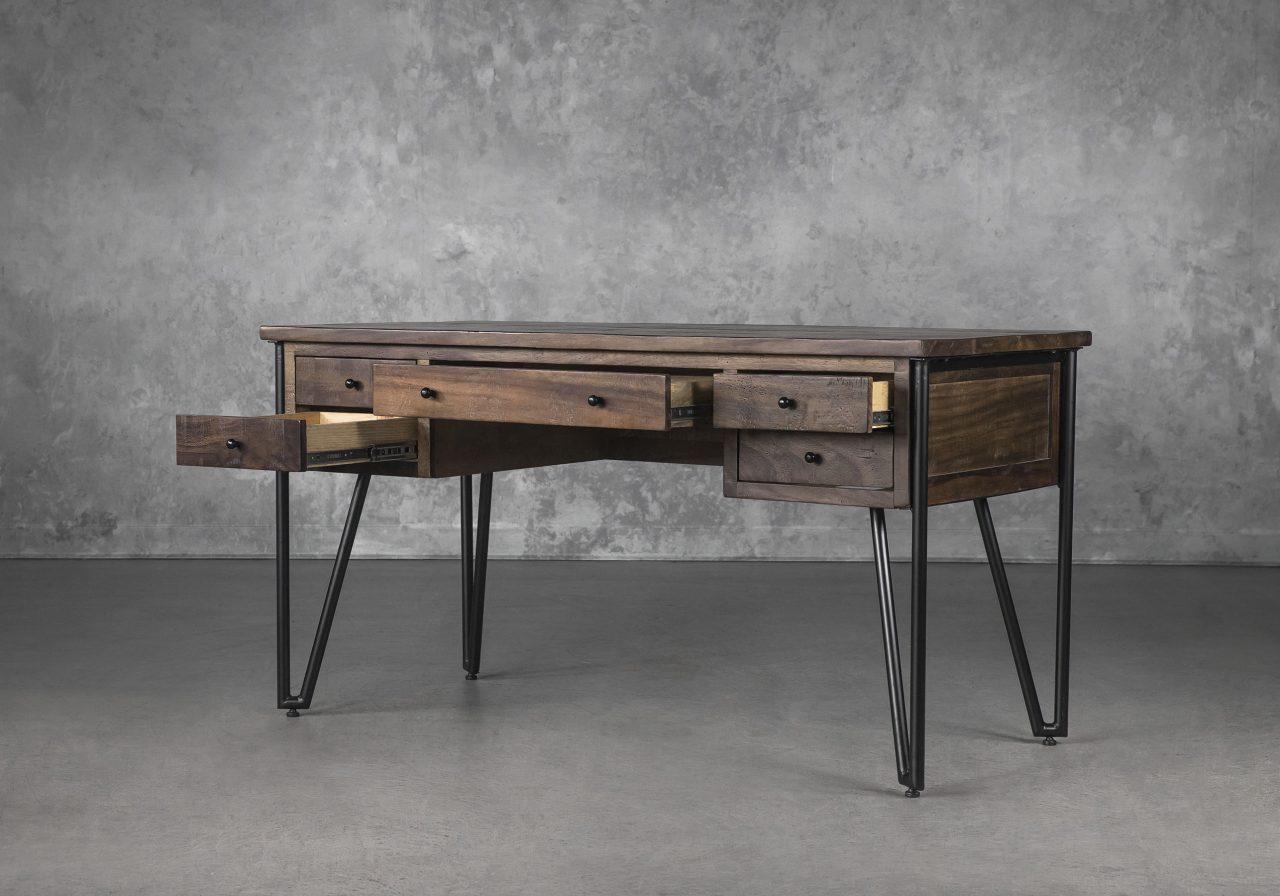 Kaos Desk, Drawers Open