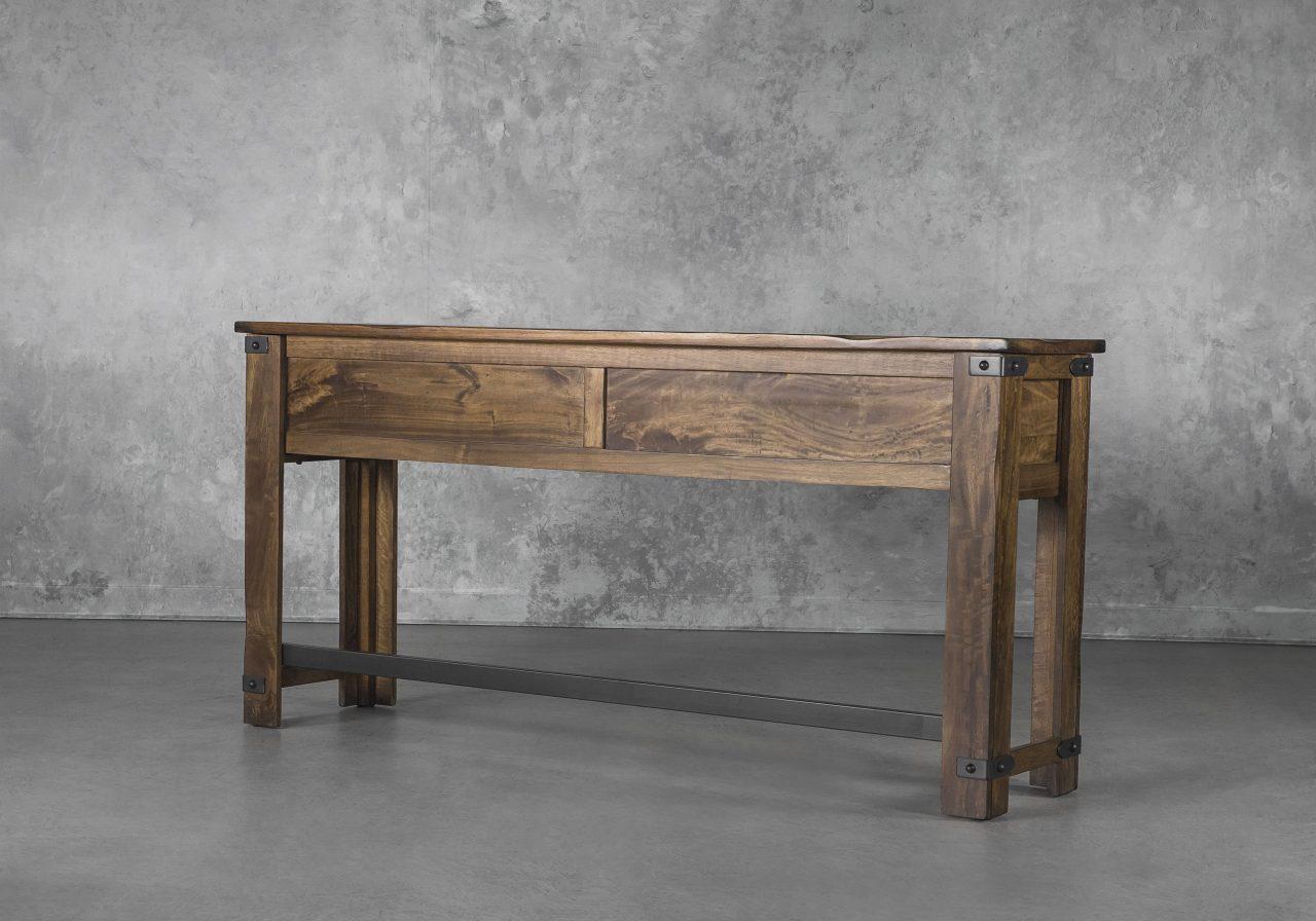 Parota Counter Table, Angle