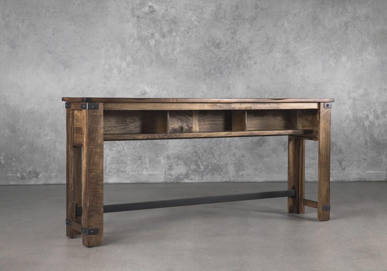 Parota Counter Table, Back