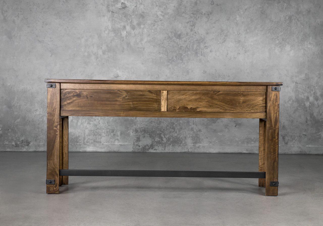 Parota Counter Table, Front