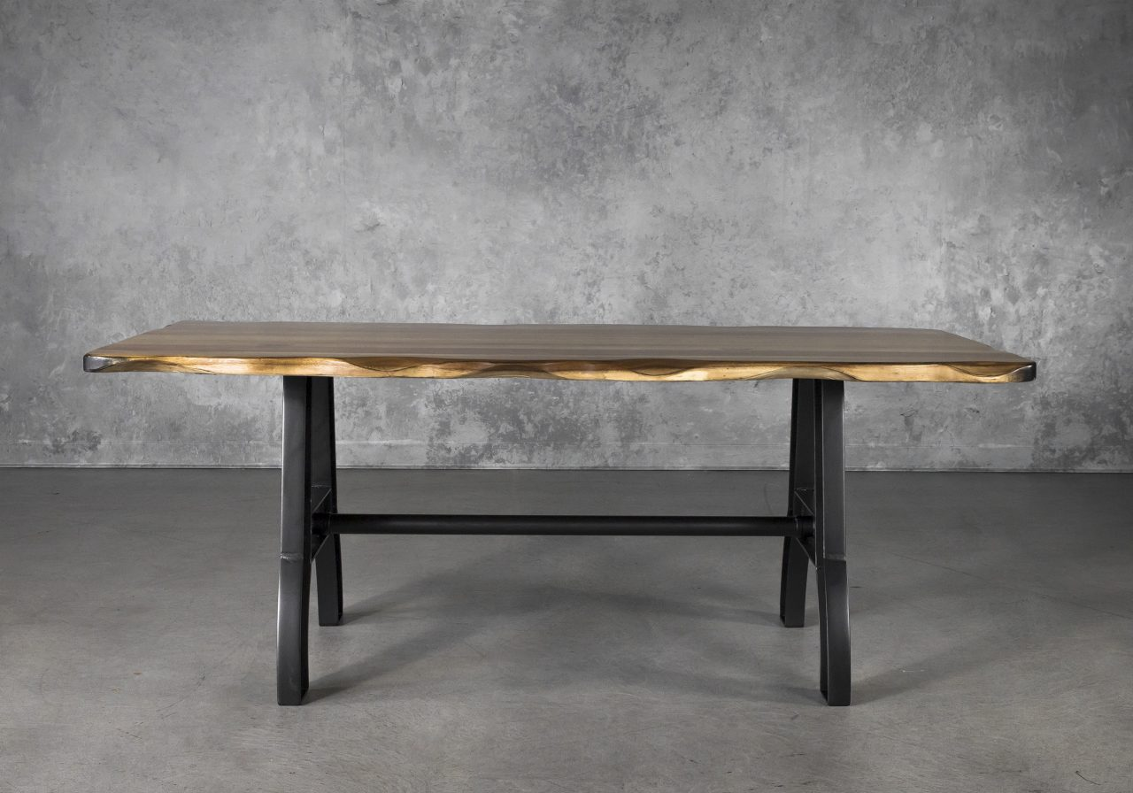 Parota Small Dining Table, Front