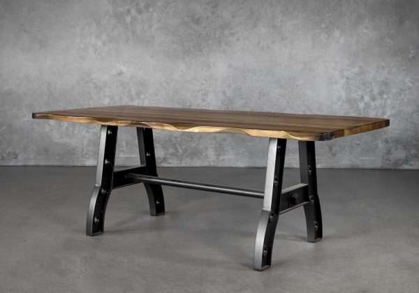 Parota Small Dining Table, Angle