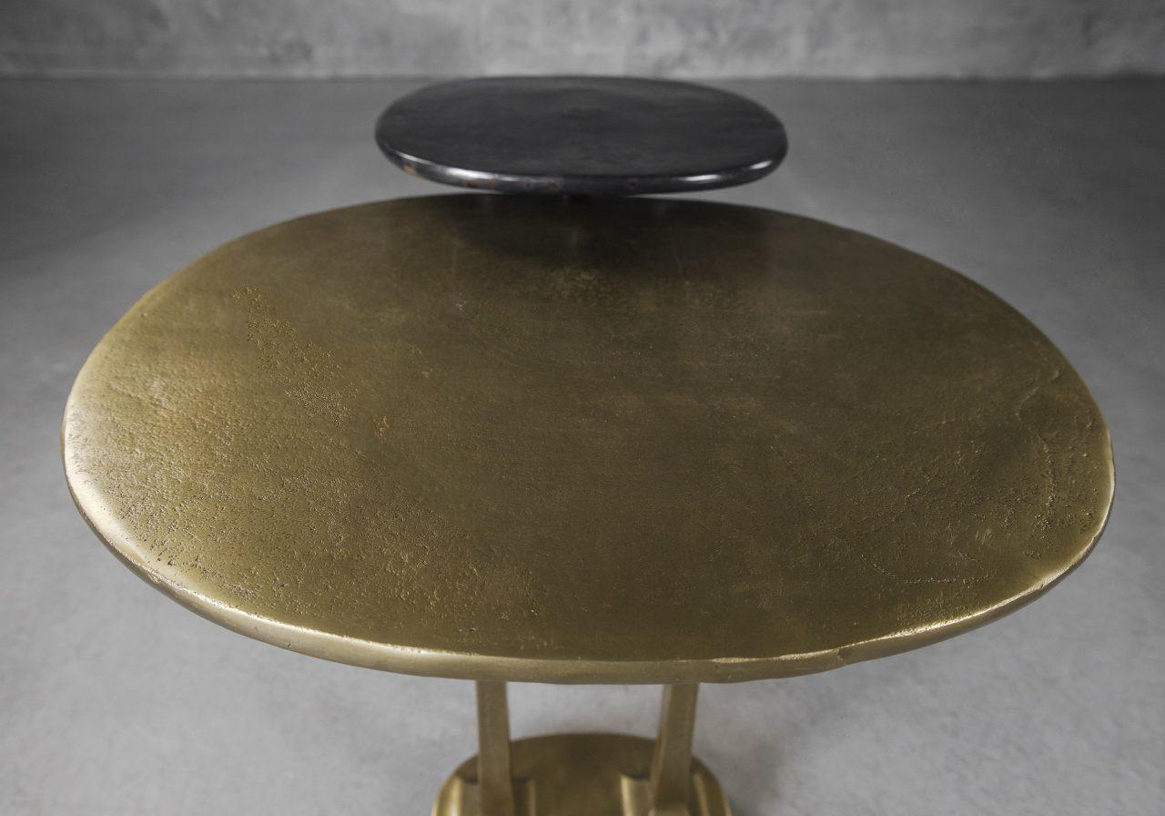 Trento End Table, Angle