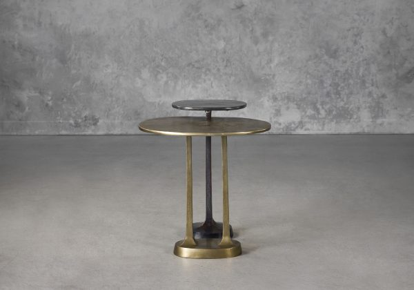 Trento End Table, Front