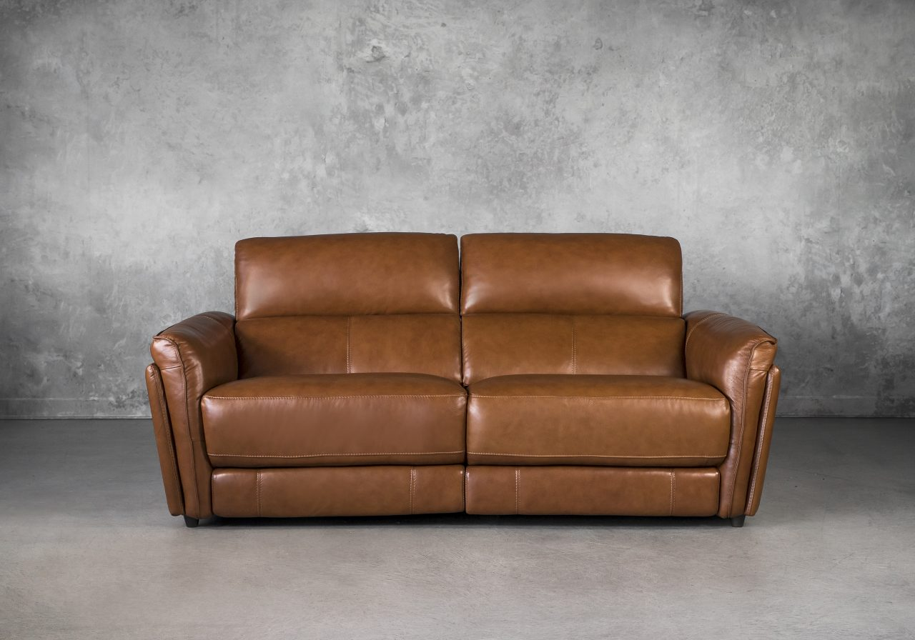 Clark Loveseat and Power Recliner, Front