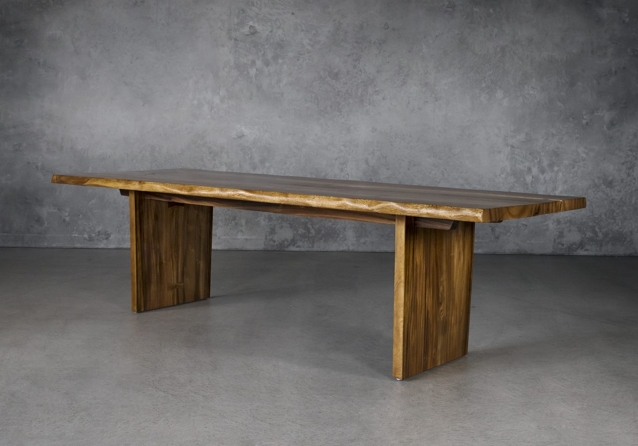 Taos Large Dining Table, Angle