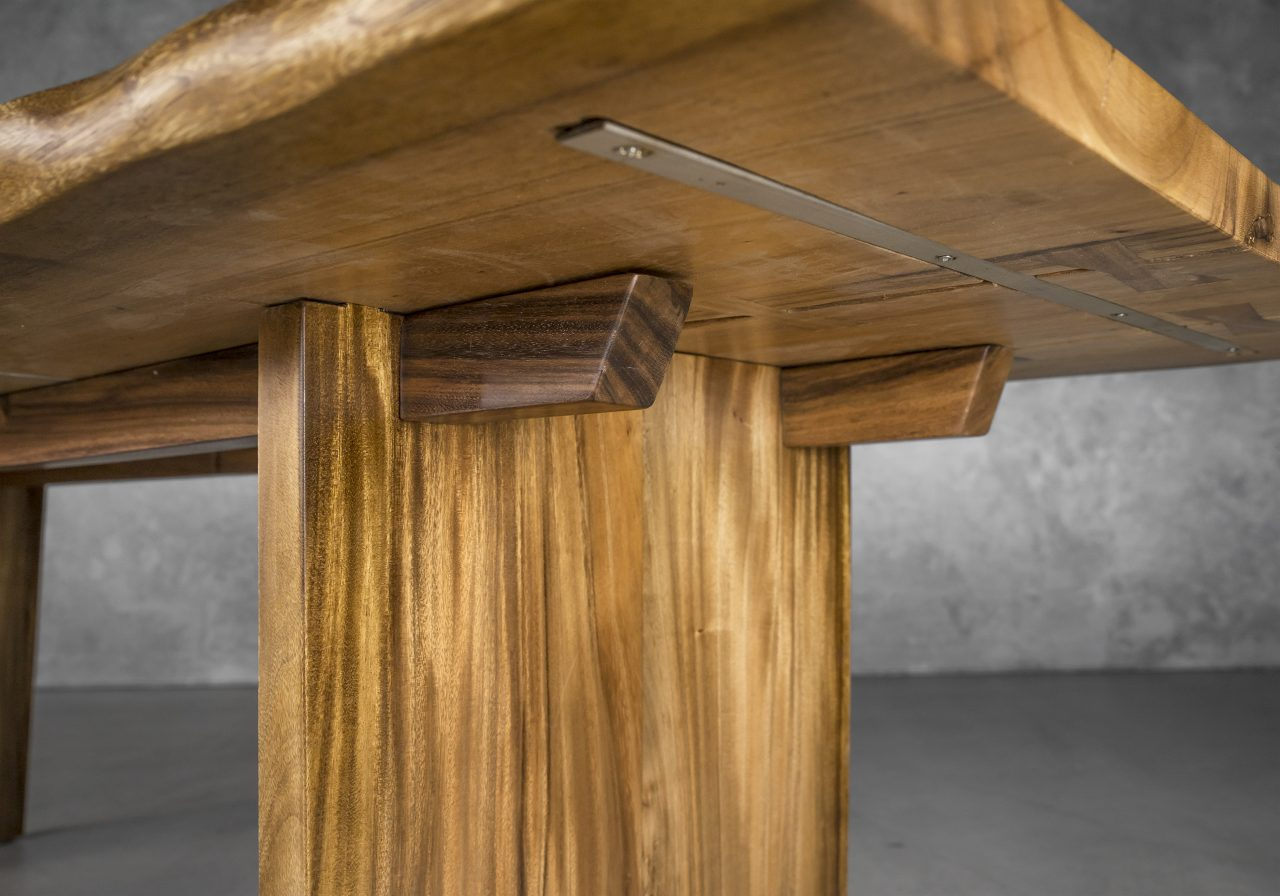 Taos Large Dining Table, Under Detail