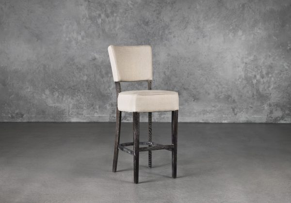 Teton Barstool in Cream, Angle