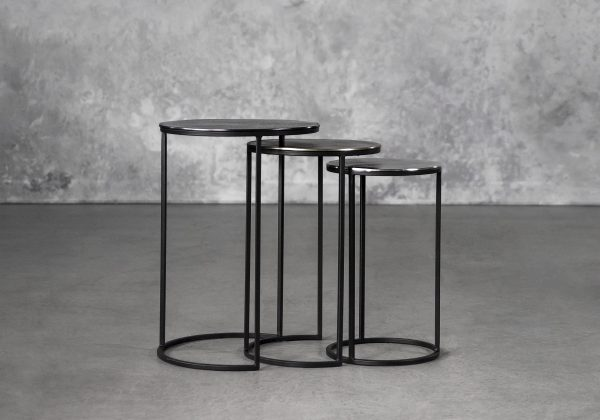 Trio Nest Tables, Front