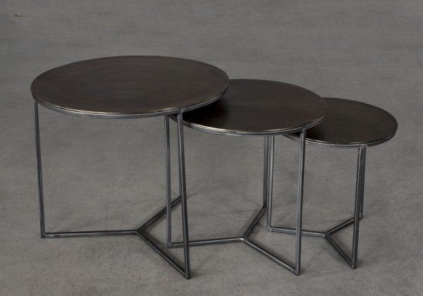 Venus End Tables, Top Angle